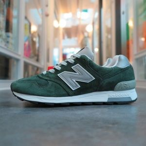 New Balance 1400 Forest Green Made In USA Shoes